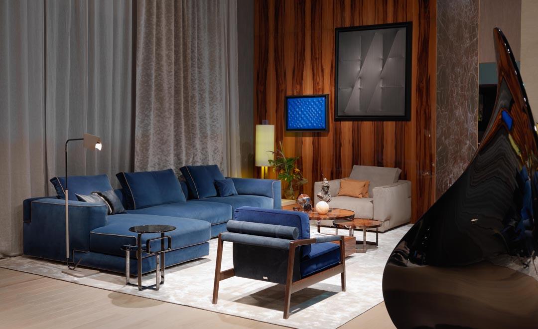 御邸進口家具 FENDI CASA Sloane sofa