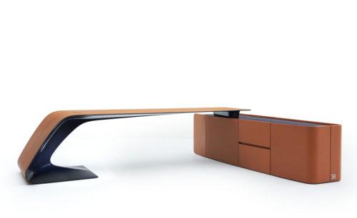 御邸歐洲進口家具 BUGATTI HOME Ettore Grand Bureau desk and board