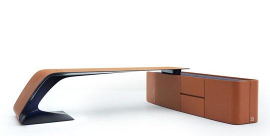 超跑家具 BUGATTI HOME Ettore Grand Bureau desk and board