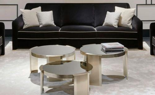 御邸義大利進口家具 HERITAGE Arles sofa and coffee tables