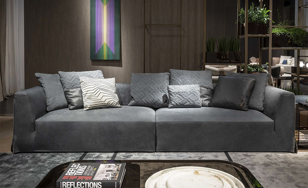 御邸進口家具 FENDI CASA Dorian sofa 03