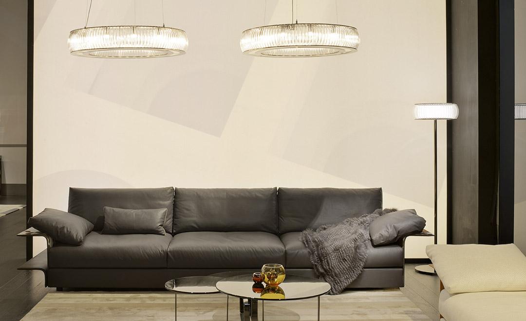御邸進口家具 FENDI CASA Hampton sofa 03