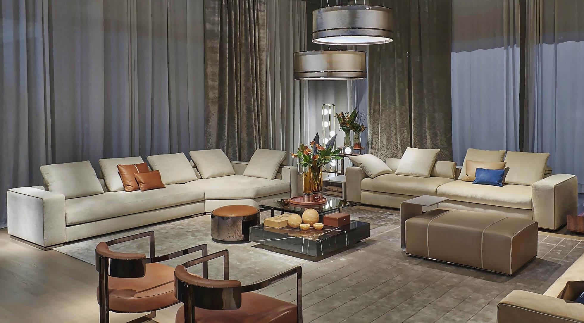 FENDI CASA One sofa Belt sofa