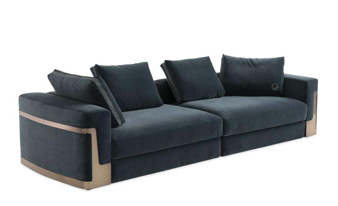 御邸進口家具 FENDI CASA Ray sofa 06