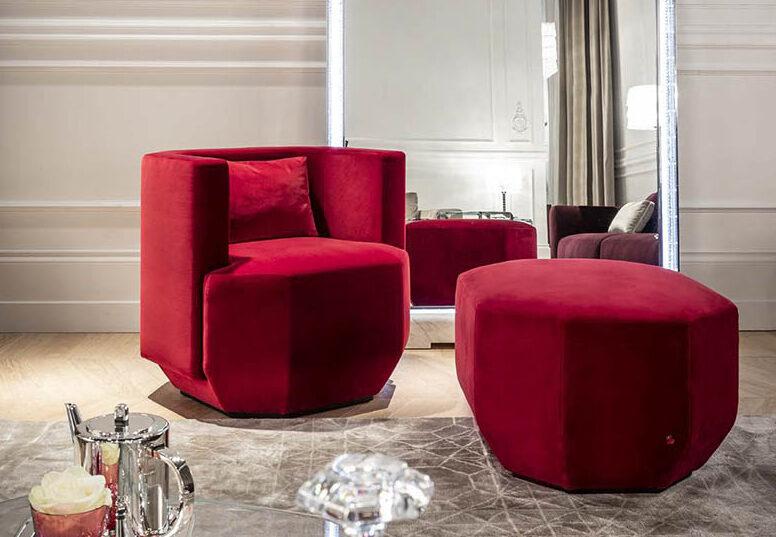 御邸進口家具 Baccarat Octogone armchair